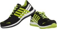 Ros 1059 Black PGreen Walking Shoes
