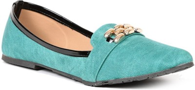 Lyc Sole Provider Green Ballerinas Bellies