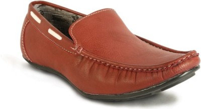 Calaso 201 Red Loafers