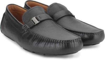 Clarks Davont Saddle Blk Tumbled Lea Casual Shoes