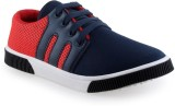 Cox Swain Redbr1 Canvas Shoes (Red, Blac...