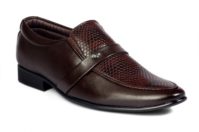 FERRAIOLO Plan B Leather Slip On