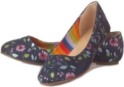 Vero Couture Floral Printed Canvas Bellies