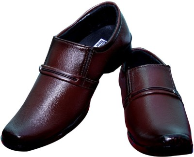 Black Bull Xjohn-Brown Party Wear Shoes