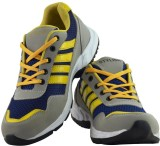 Elvace 8026 Cricket Shoes (Yellow)