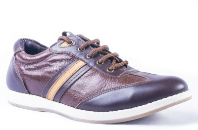 Tanny Shoes Synthetic Leather Brown Casual Shoes