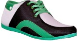 Ajay Footwear Casual Shoes (Green)
