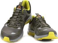 Reebok Men Running Shoes(Black, Green, Grey)
