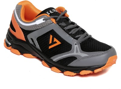 SEVEN Atum Black Pewter Orange Peal Running Shoes
