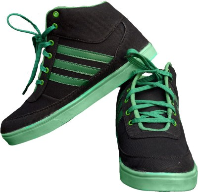 StyleToss Black and White Sneakers
