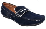 Raja Fashion Synthetic Blue Loafers (Blu...