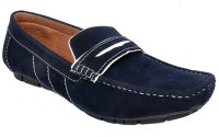 Raja Fashion Synthetic Blue Loafers