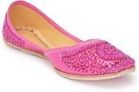 Paduki Ethnic Footwear Jutis(Pink)