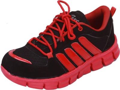 Shoebook Black- Red Running Shoes
