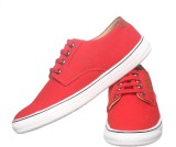 Sats Canvas Shoes (Red)