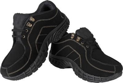 Vivaan Footwear Black-211 Running Shoes