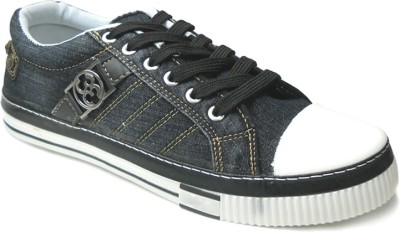 Fast Trax 5706-Black Canvas Shoes