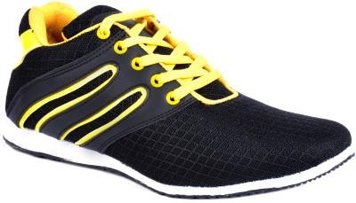 Footlodge Stylish and Elegant Canvas Shoes(Black)