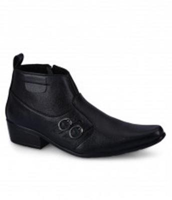 Vajazzle Classy Black Party Wear Shoes