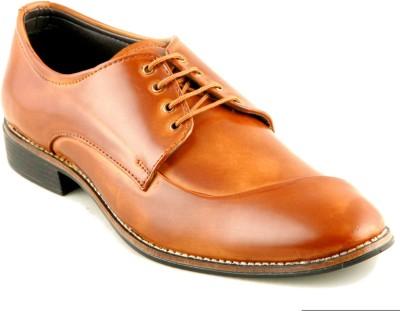 Devee Arabian Style Bourkan Tan Lace Up Shoes
