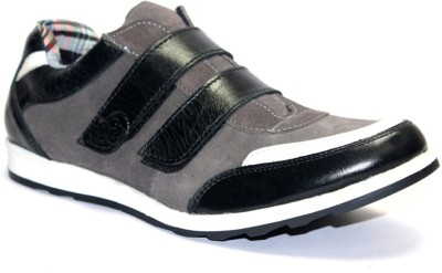 Guava Black & Grey Casual Shoes