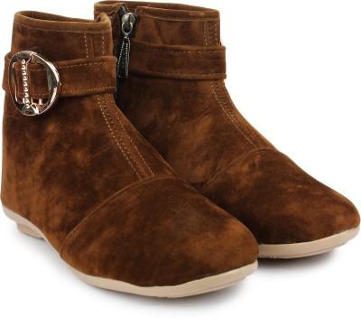 Do Bhai Boots(Brown)