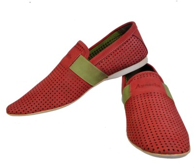 Apaache Nubuck Leather Casual Shoes