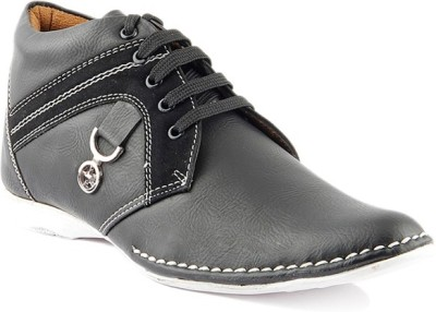 Kohinoor Black Casual Shoes
