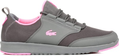 Lacoste Womens Grey L.IGHT RES Trainers Casual Shoes