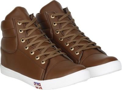 Kraasa Rocking Sneakers, Boots, Dancing Shoes(Tan)