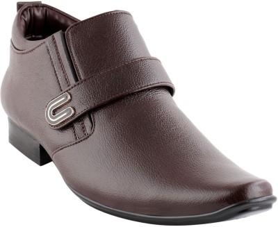 Smart wood 2002 BRN Slip On Shoes