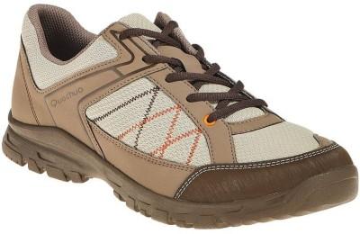 Quechua Brown Hiking & Trekking Shoes