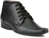 Mactree Cuban Lace Up Shoes (Black)