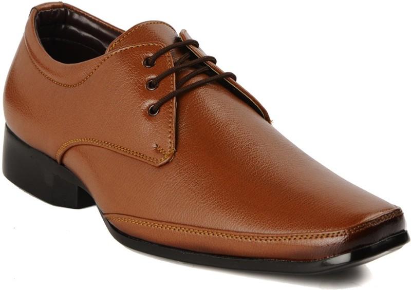 Bruno Manetti 7256 Lace Up ShoesTan SHOEES2K57BWEBJS