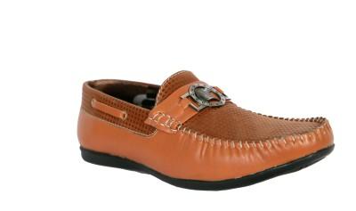Trendystuff4u Tan Loafers-057 Loafers