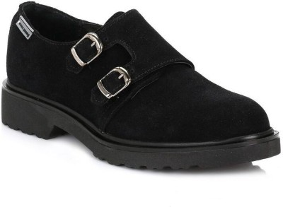 4ever young Womens Black Hidra Suede Shoes Casual Shoes