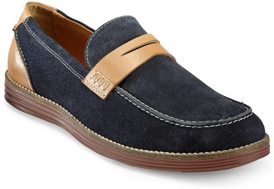Hats Off Accessories Penny Navy Blue Loafers