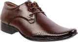 Marcbeau Lace Up Shoes (Brown, Brown)