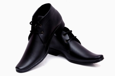 Buenos High ankle original solid laced Party Wear