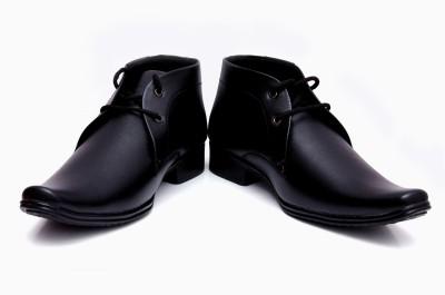 Barretoes Black Original Lace Up Shoes
