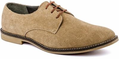 Nudo Plain Beige Casual Shoes