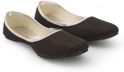 Little India Women Designer Black Fashionable Ballerina Sandals 309 Jutis