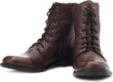 Alberto Torresi Boots (Brown)