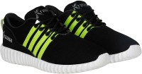Kraasa Sports Running Shoes, Walking Shoes, Cycling Shoes, Cricket Shoes(Black) best price on Flipkart @ Rs. 499