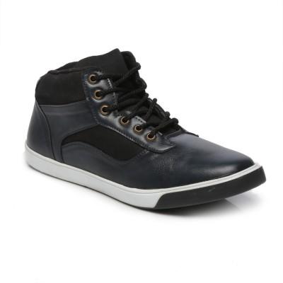 TEN Blue Leather Sneakers Sneakers