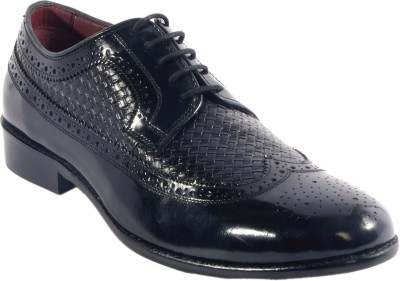 URBAN NATION Tempted Brogue Italian Hand Crafted Leather Shoe Lace Up