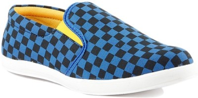 Big Wing Blue Casual Shoes