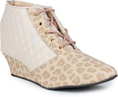 Bonzer Boots(White, Brown)