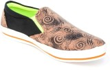 TheWhoop Black Brown Mix Canvas Shoes (B...