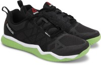 Reebok REEBOK ZPRINT TRAIN Men Training & Gym Shoes(Black, Green)